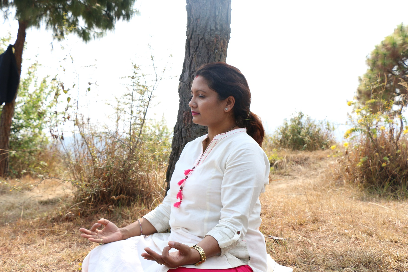 Yoga Teacher Yogini Indu