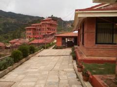 Surounding Scene of Nepal Yoga Institute