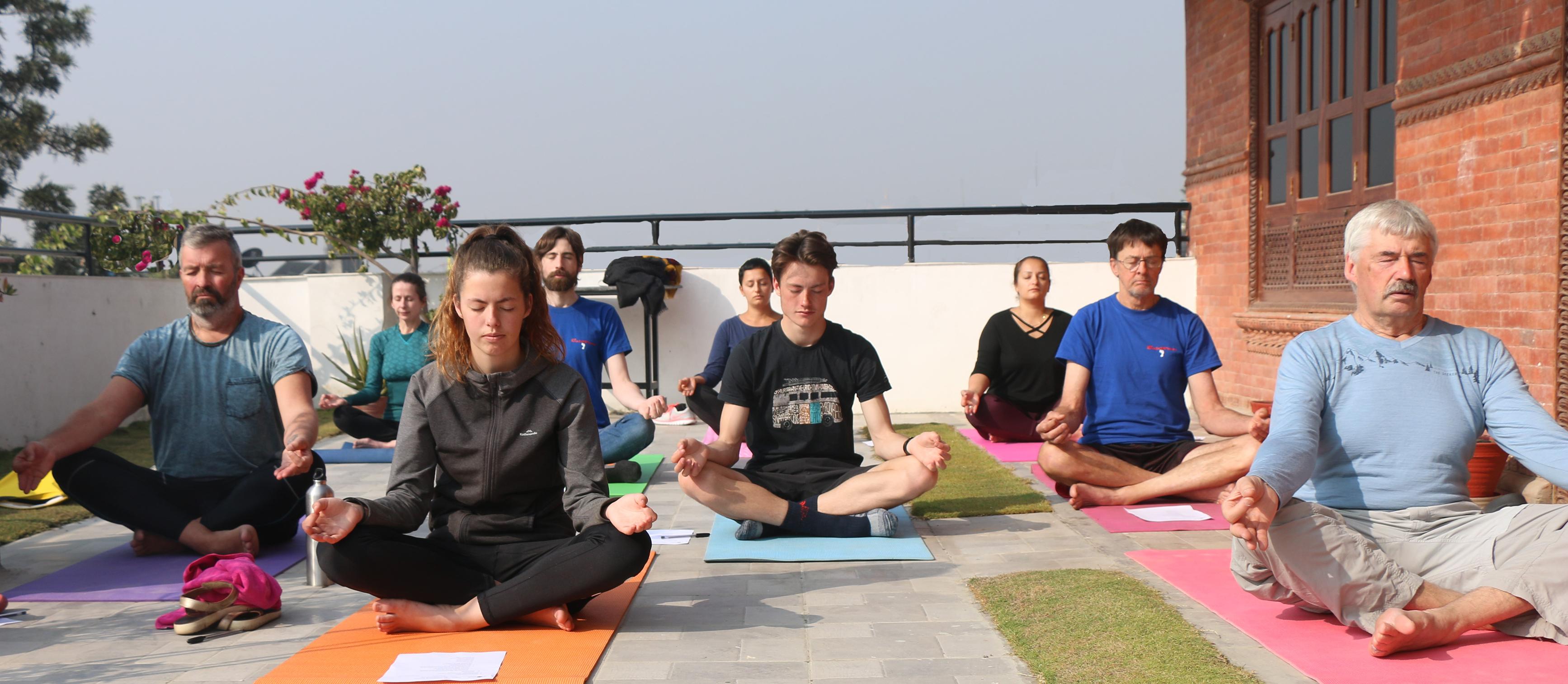 Yoga In Nepal   Yoga Teacher Training in Nepal