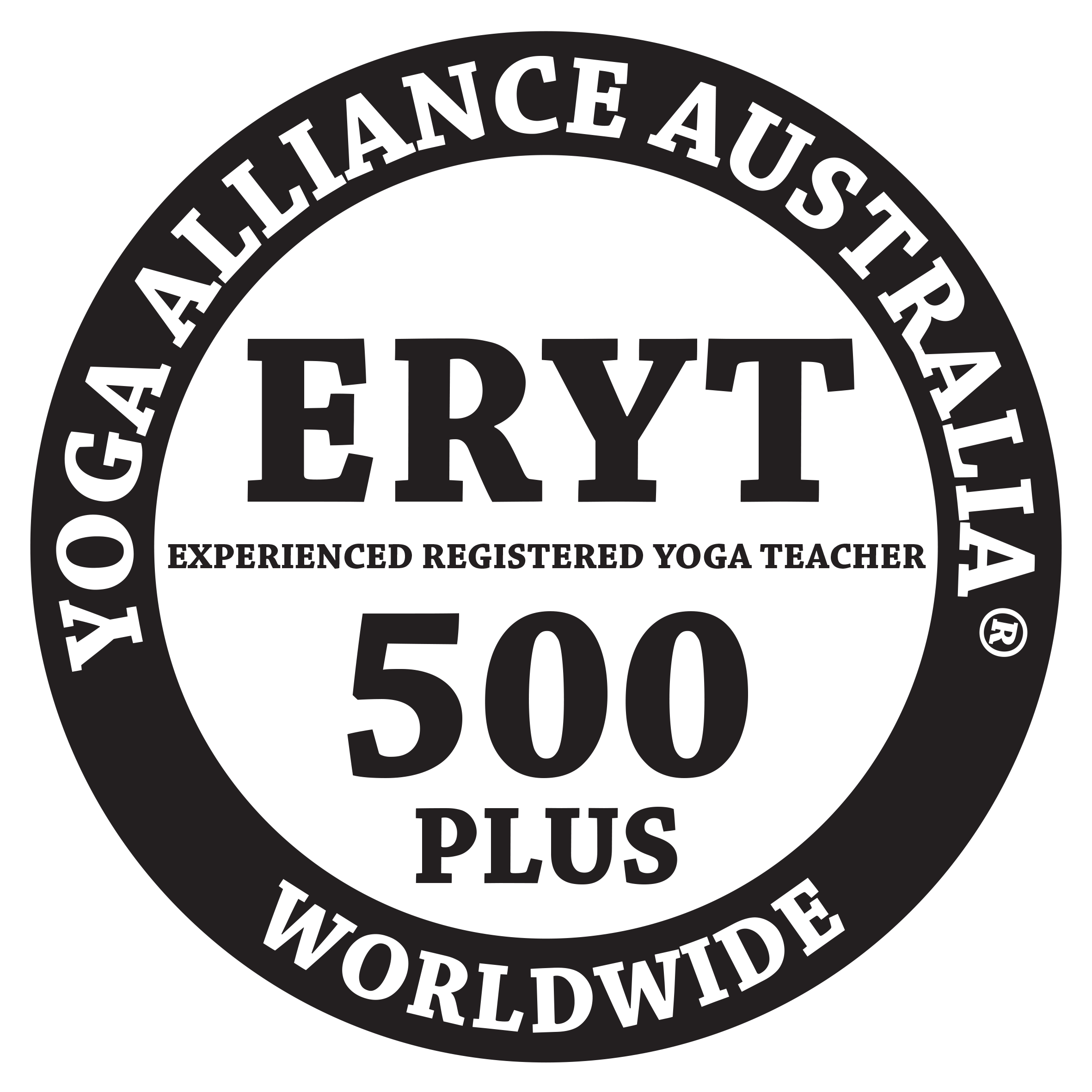 Experienced Registered Yoga Teacher(ERYT-500) of Yoga Aliance Australia